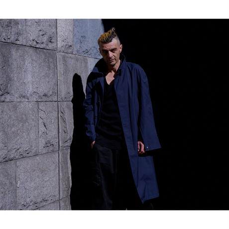 Spring Balmacaan Coat/NV [NOW/NEVER]