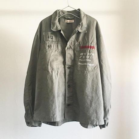 ミリタリーワークシャツジャケット