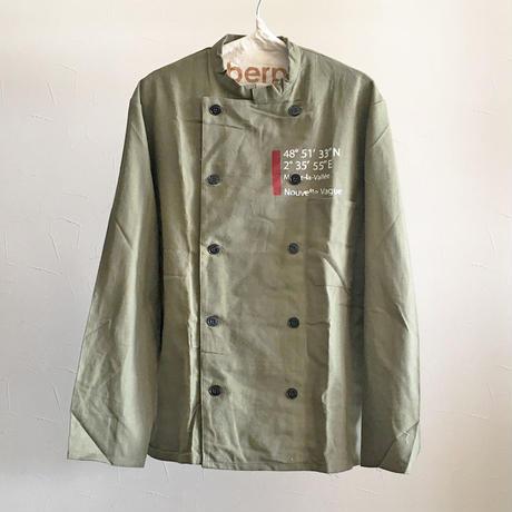 ミリタリーコックシャツジャケット