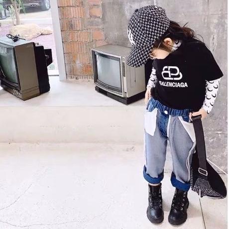 ★重ね着ロゴTシャツ★