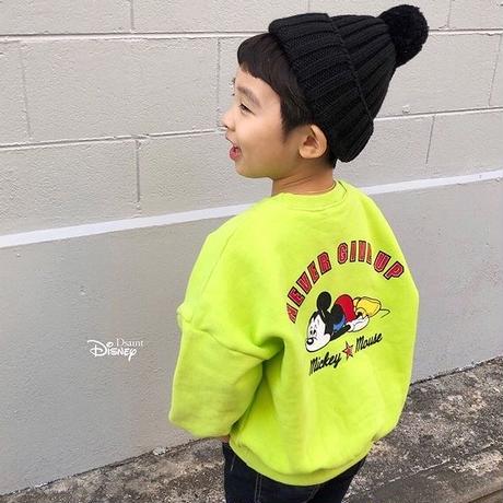 ★NeverGive up!ミッキートレーナー(Disney公式ライセンス)★