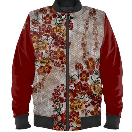 Hana Ladies Bomber Jacket