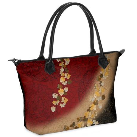 蝶家紋装飾 オーダーメイドバッグ