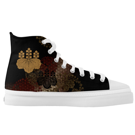 Samurai Shogun Toyotomi HIGH TOP SHOES