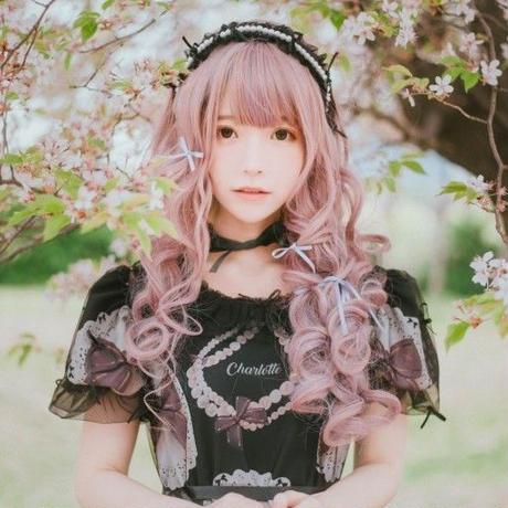 [Charlotte] Necklace & Ribbon パールカチューシャ 【ご予約商品】
