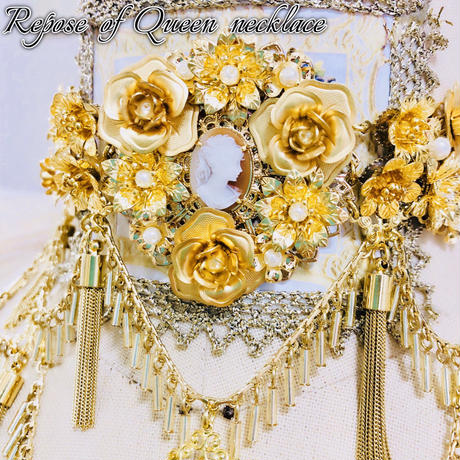 Baroque x marywest☆ Repose of Queen ネックレス※ハンドメイド商品、※数量限定※【ご予約商品】