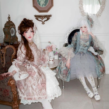 nouvelle mode(ヌーヴェルモード)' コートドレス 残金決済【ご予約商品、限定商品】
