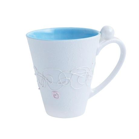 蓮糸 トールマグ 青