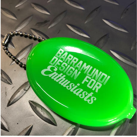 BMD【Enthusiasts】coin case  (Lime green)