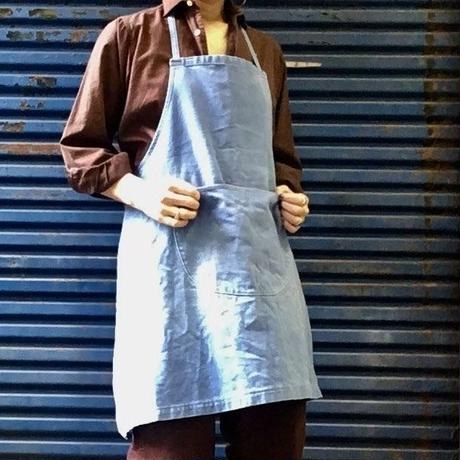 Old french denim  work apron