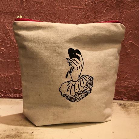 Nude Vamp cosmetic purse