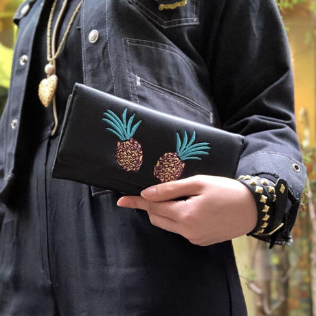 Banned apparel pineapple wallet