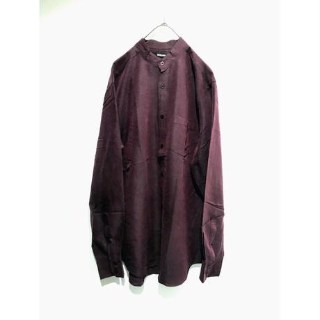 【MURANO】stand collar shirt