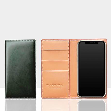 イングリッシュブライドル スマートフォンケース ブリティッシュグリーン iPhone各モデル対応