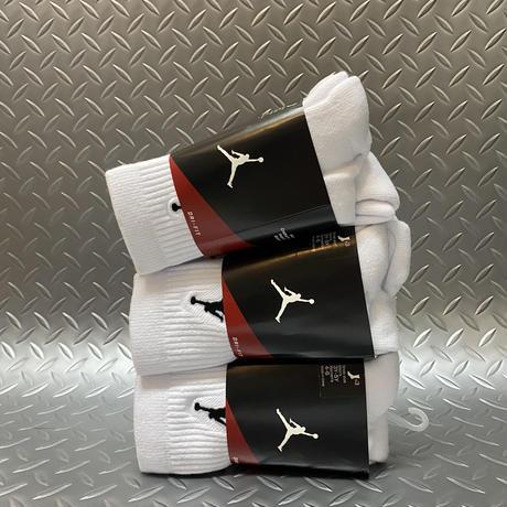 JORDAN 【 ジョーダン 】Jumpman バスケットボールソックス (3 PACK)