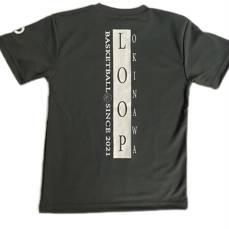 LOOPオリジナルTシャツ/ダークグレー