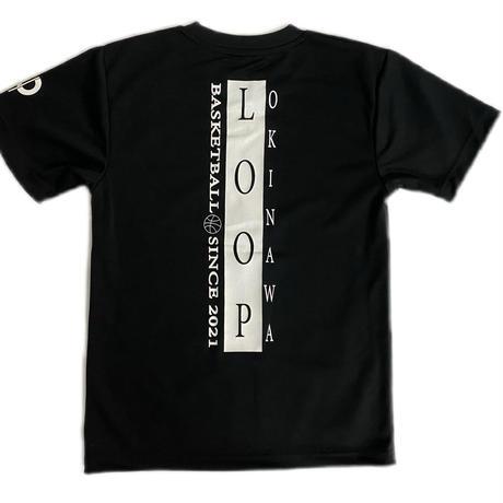 LOOPオリジナルTシャツ/黒
