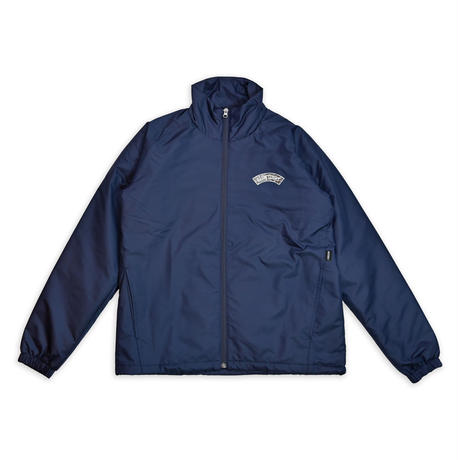 TIGER CAMO LOGO WINDBREAKER JACKET / NAVY