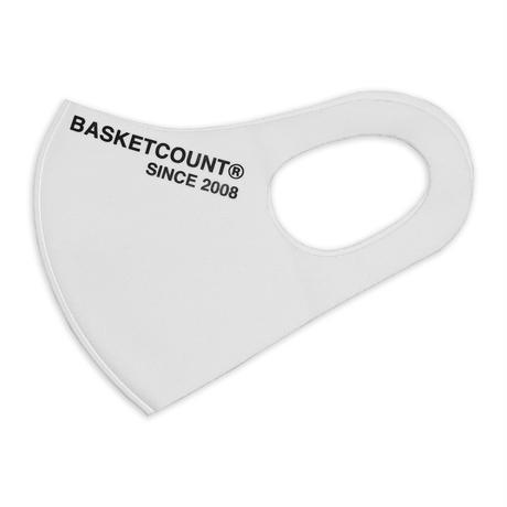 BASKETCOUNT WASHABLE MASK / WHITE