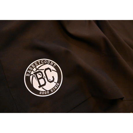 BC LOGO SHORTS / BLACK