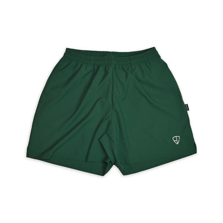 EMBLEM LOGO SHORTS <EX SHORT> / GREEN