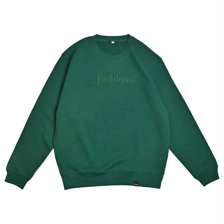 SCRIPT LOGO SWEAT SHIRTS / IVY GREEN