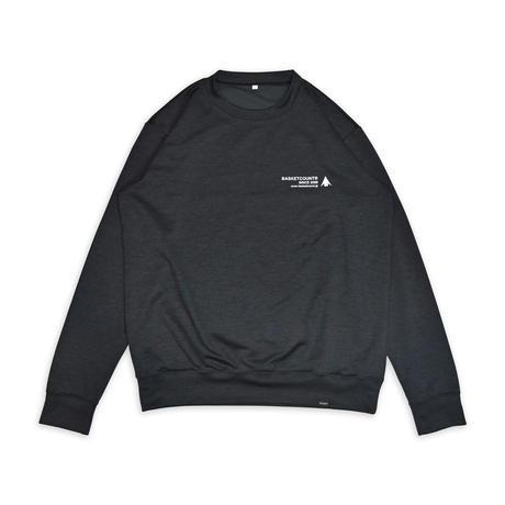 B.O.S SWEAT SHIRT <日本製> / BLACK