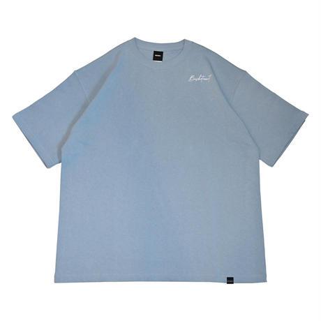 SCRIPT LOGO BIG T-SHIRT / ACID BLUE