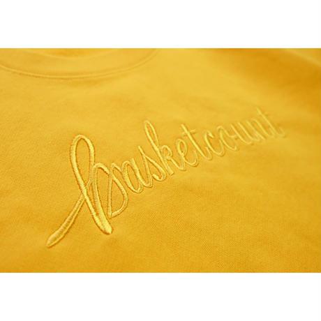 SCRIPT LOGO SWEAT SHIRTS / GOLD