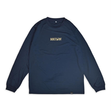 LOGO LONG T-SHIRT / NAVY