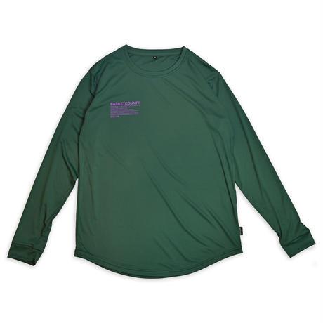 MANIFESTO LONG T-SHIRT / GREEN