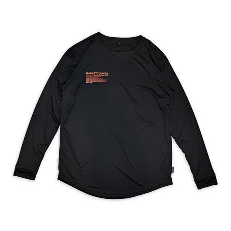 MANIFESTO LONG T-SHIRT / BLACK