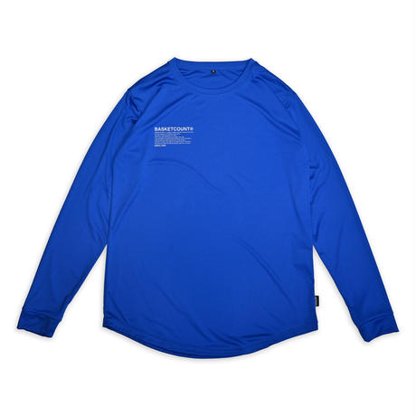 MANIFESTO LONG T-SHIRT / BLUE