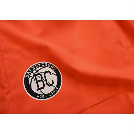 BC LOGO SHORTS / ORANGE