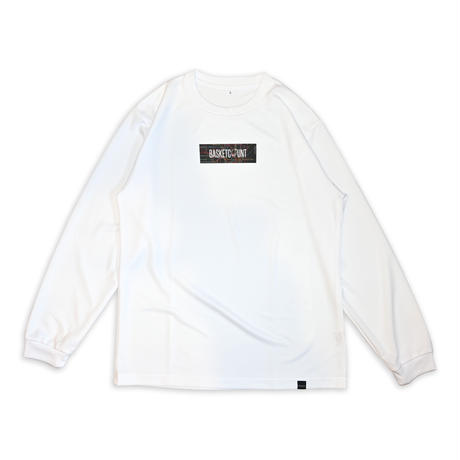 METRO LOGO LONG T-SHIRT / WHITE