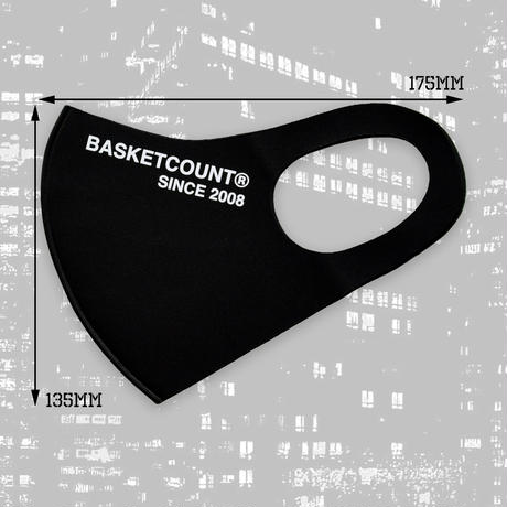 BASKETCOUNT WASHABLE MASK / GRAY