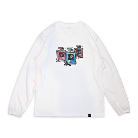 PERFUME LONG T-SHIRT / WHITE