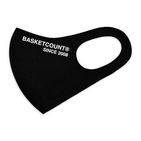 BASKETCOUNT WASHABLE MASK / BLACK