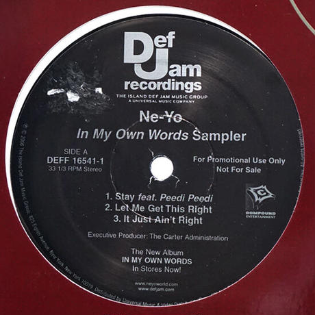 Ne-Yo // In My Own Words Sampler // RN013A