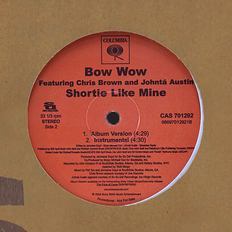 Bow Wow // Shortie Like Mine // HB050A