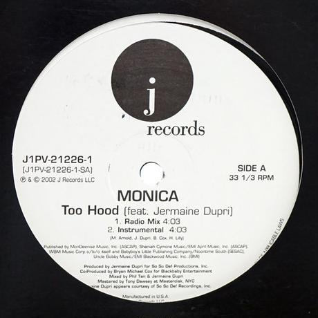 Monica - Too Hood // RM018B