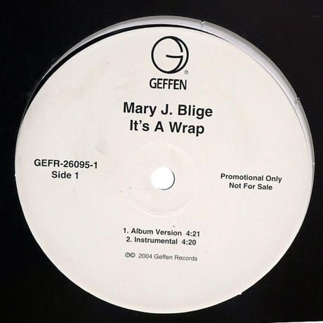 Mary J Blige - It's A Wrap // RM005A