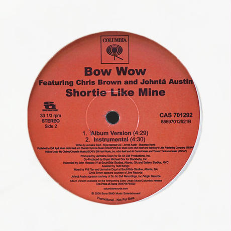 Bow Wow // Shortie Like Mine // HB051A