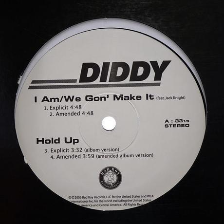 Diddy // I Am (We Gon' Make It) // HD019A