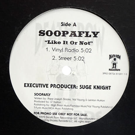 Soopafly // Like It Or Not // WS026A