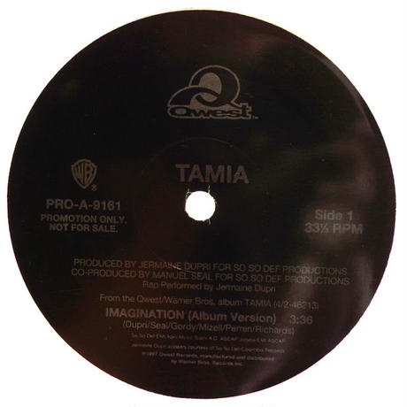 Tamia // Imagination // RT003A