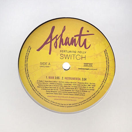 Ashanti Featuring Nelly // Switch // RA045A
