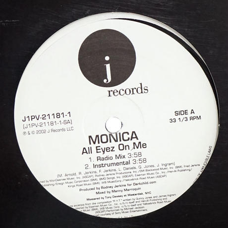Monica - All Eyez On Me