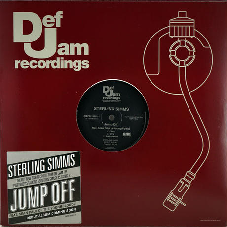 Sterling Simms // Jump Off // RS008A