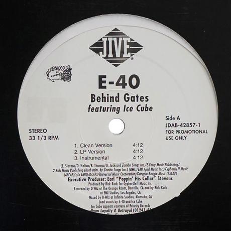E-40 // Behind Gates // WE028E